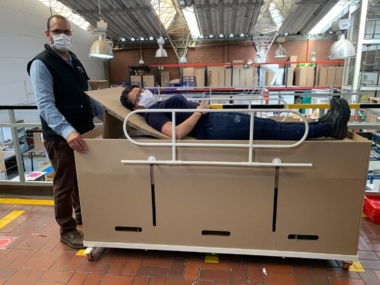 ABC Displays has created a hospital bed that can be converted into a coffin