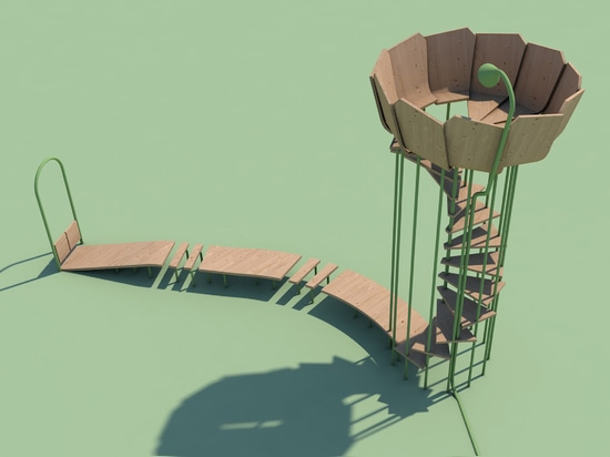 """Rimbin is an """"infection-free"""" playground concept designed to look like water lilies"""