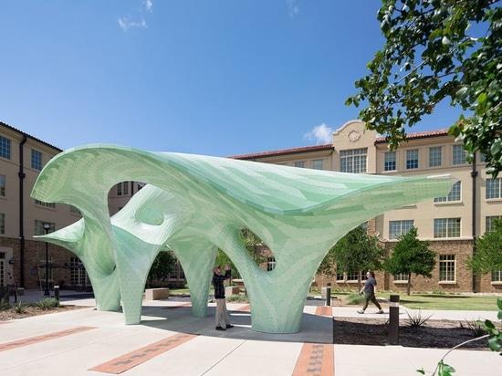 Texas Tech University Has A New Public Sculpture By Marc Fornes