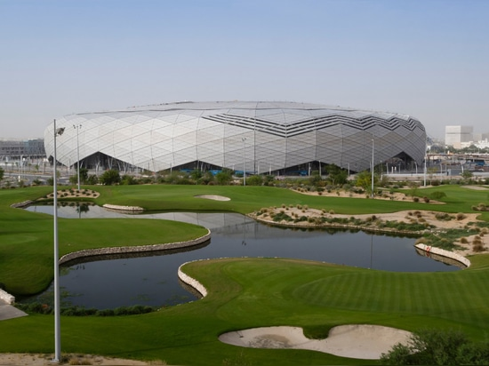 """""""Diamond in the Desert"""" stadium completes ahead of 2022 World Cup in Qatar"""