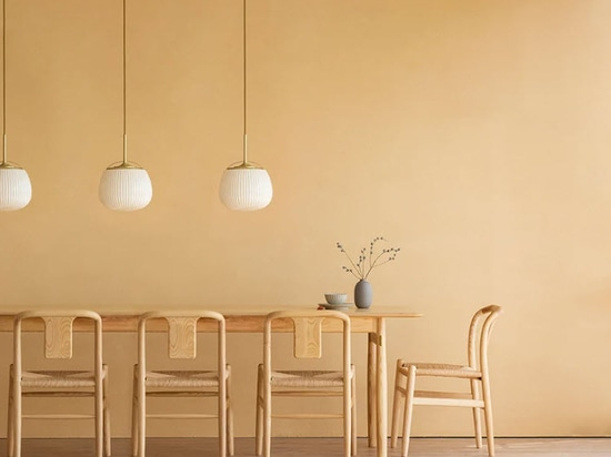 Traditional chinese cooling fan meets luminaire design in 'ogi lamp' by yen-hao, chu