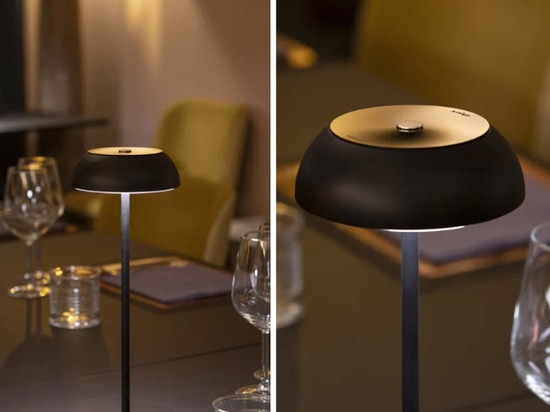 Portable Axolight float lamp adapts as wall, floor, table and ceiling light