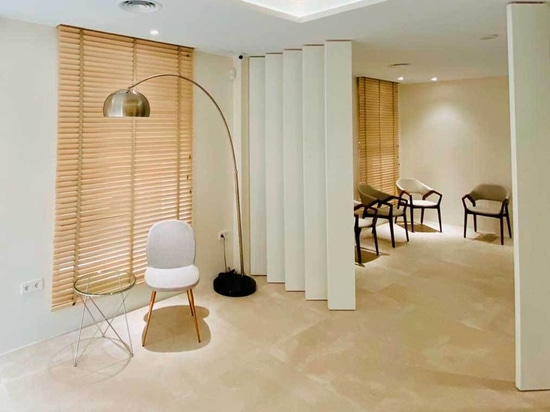 Ilicitano Medical Institute Project furniture design Angel Cerdá