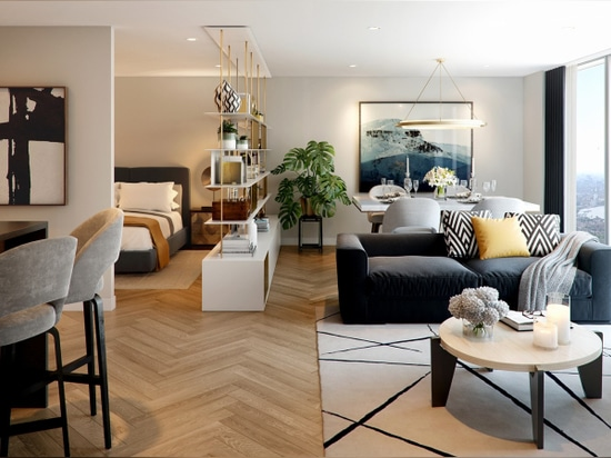 CASTRO WOOD FLOORS AT LANDMARK PINNACLE´S RESIDENTIAL TOWERS