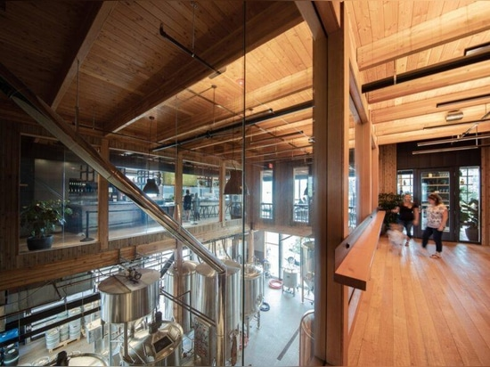 Hood River's mixed-use Outpost achieves industrial chic with mass timber