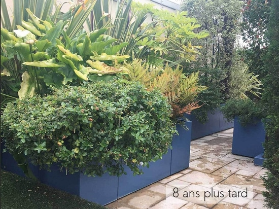 IMAGE'IN Durable planters made to measure in fiber cement