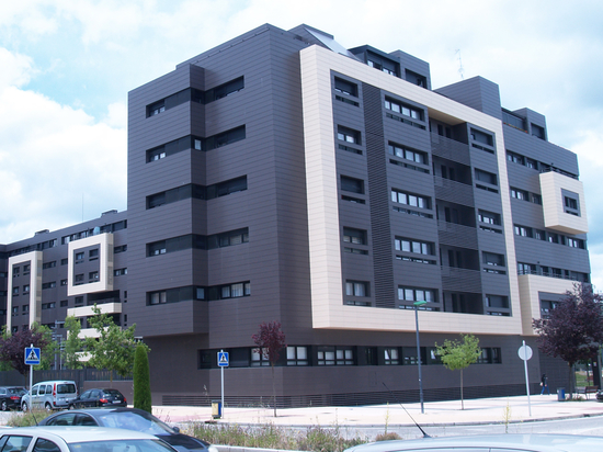 Ceramic Ventilated Facade in Residential Complex