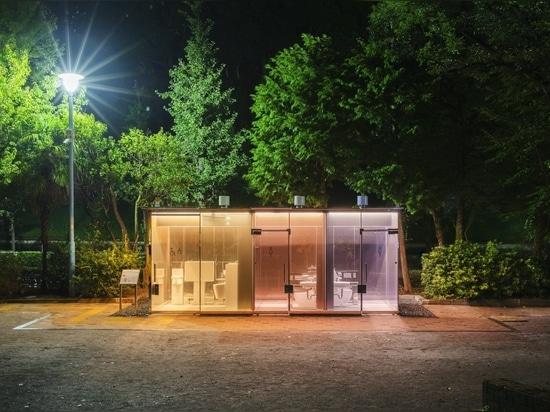 Yoyogi Fukamachi Mini Park Toilet / Shigeru Ban Architects