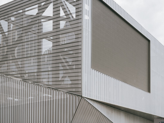 North Greenwich Sculptural Screen / Neiheiser Argyros