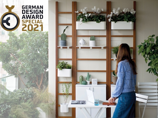 Unopiù Urban Balcony receives the Special Mention  at the German Design Awards 2021