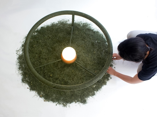 Green design start-up Ottan Studio is committed to producing upcycled decor out of food and green waste.
