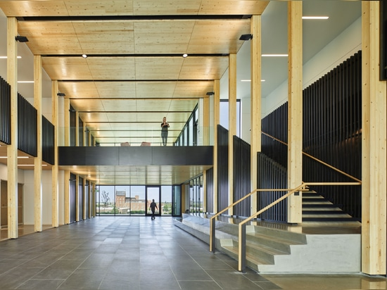 Katerra and Michael Green Architecture complete the Catalyst Building in Spokane, Washington