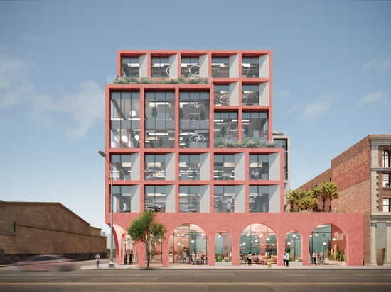 Hawkins\Brown is bringing a dusky mixed-use complex to L.A.