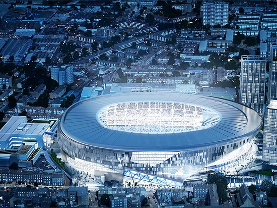 Watching football is about to become more intense and intimate than ever before. Architecture firm Populous has unveiled their updated design for the new Tottenham Hotspur football stadium expected...