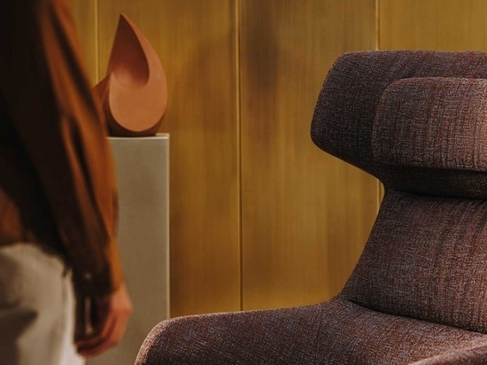 Arper Launches Aston Club Chair in New Kvadrat/Raf Simons Fabrics