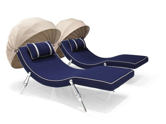 Kick Back + Relax with Visionnaire's Kathryn Outdoor Collection