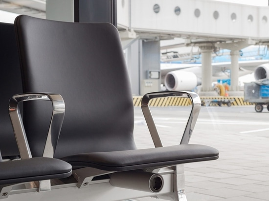 The seats have their own integrated power system with one plug under each seat