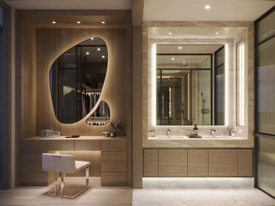 Thomas Juul-Hansen opts for earthy tones in Bangkok's Scope Langsuan apartments