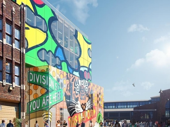 MVRDV's new glass building in Detroit's Eastern Market is a love letter to the city