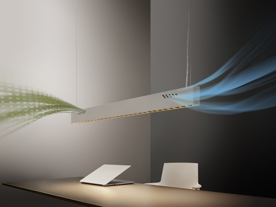 Pure BioAir, a Lamp by Olev that Sanitizes Interiors. Courtesy of Olev