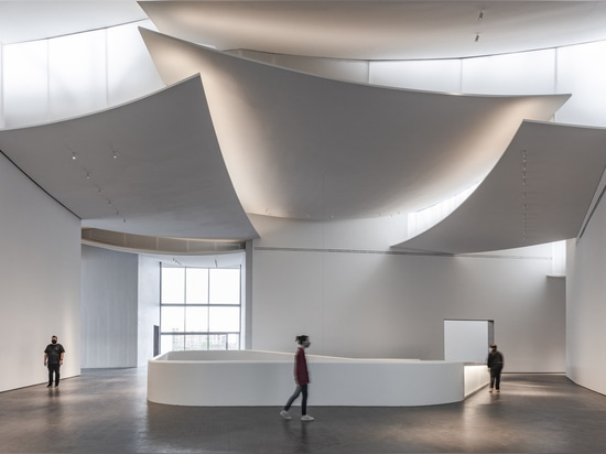 Nancy and Rich Kinder Museum / Steven Holl Architects