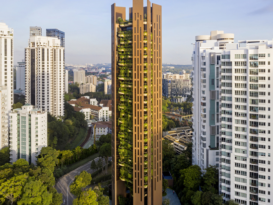 EDEN Singapore Apartments / Heatherwick Studio