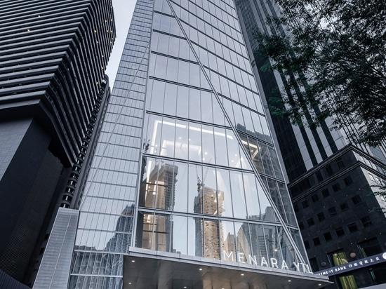 The YTL Headquarters skyscraper.