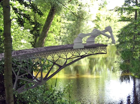 The location of the bridge has not yet been determined but will be announced soon.   Read more: Amsterdam's new 3D-printed steel bridge is revolutionizing the building industry 3D printed steel bri...