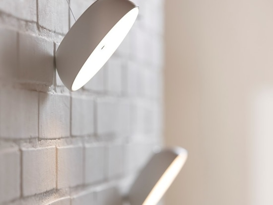 the wall option of the 'float' lamp