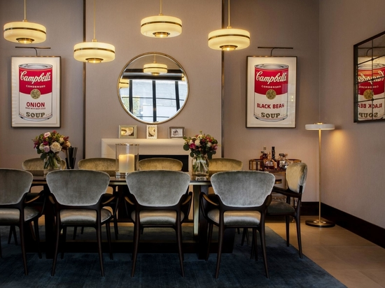 Inside the newly designed London home of chef Jason Atherton