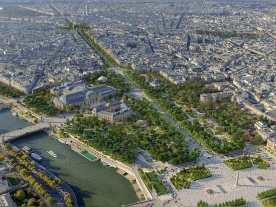The overhaul will transform the entire Champs-Élysées.