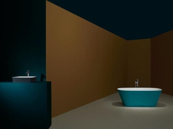 Three new bathroom colour palettes designed for lockdown living