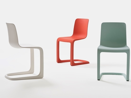 Tip Ton RE from Vitra reconsiders Barber & Osgerby's Tip Ton chair.