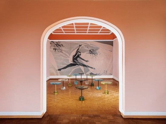 Pina side table by Sebastian Herkner for Pulpo.