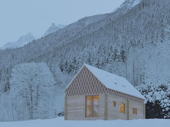 Enrico Scaramellini realizes a housing prototype to be endlessly reconfigured