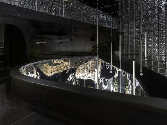 The Black Concrete Restaurant and Bar / RENESA Architecture Design Interiors Studio