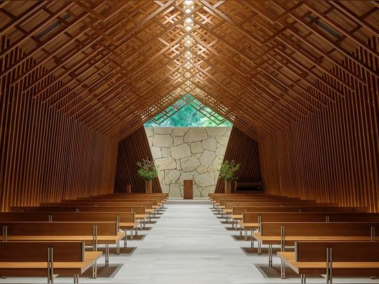 The Westin Miyako Kyoto chapel by Katori Archi + Design Associates
