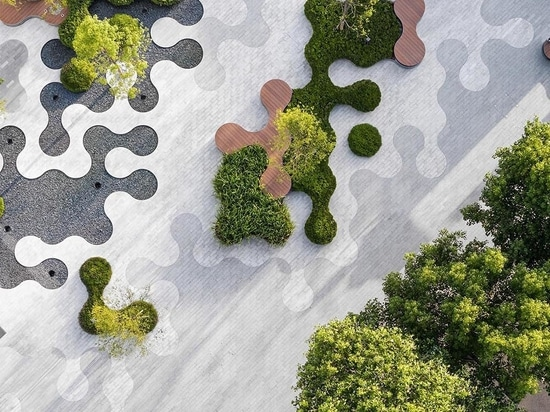 A Landscape Of Curvaceous Shapes Was Designed For This Park