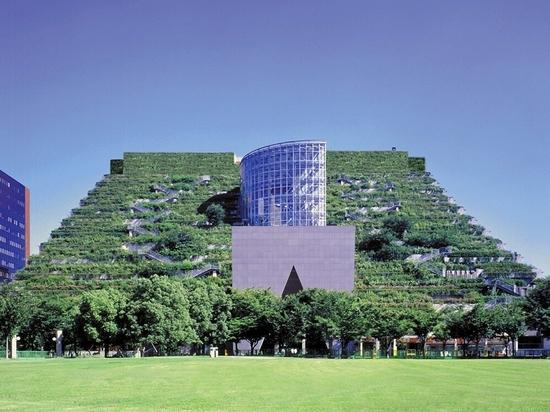 ACROS center in Fukuoka, Japan