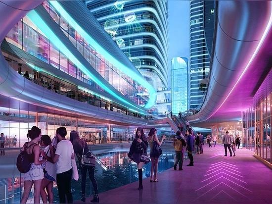 Aedas envisions soft, fluid geometries to design its Zhanjiang Yunhai tower
