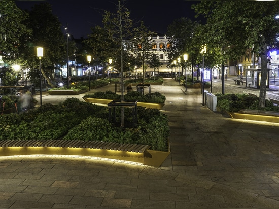 Light and space for Gothenburg's Brunnsparken