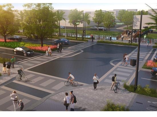 Conceptual design: West Atlantic Boulevard, Pompano Beach.