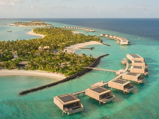 Studio MK27 unveils its breezy village of 'islands within an island' in the Maldives