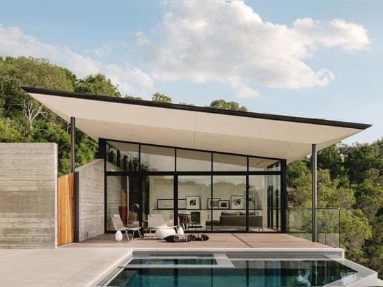 A Large Sloping Roof Allows Light To Enter From Clerestory Windows On One Side And Impressive Views On The Other