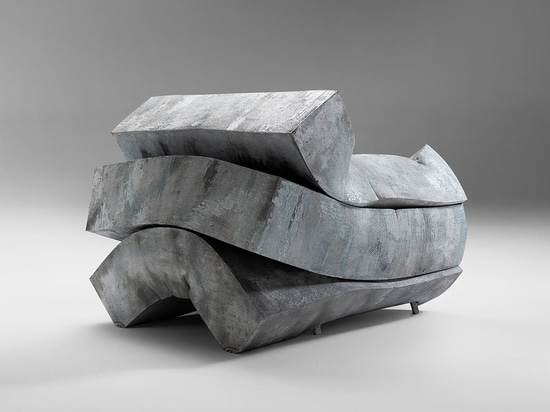 From a cubic meter of foam rubber to a functional work of art