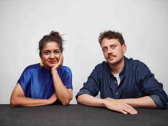 Superflux co-founders Anab Jain and Jon Adern. Photography: Mark Cocksedge