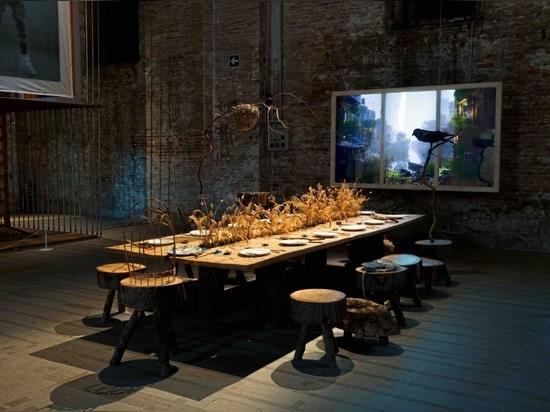 Refuge for Resurgence, at the Venice Architecture Biennale 2021. Photography: Giorgio Lazzaro
