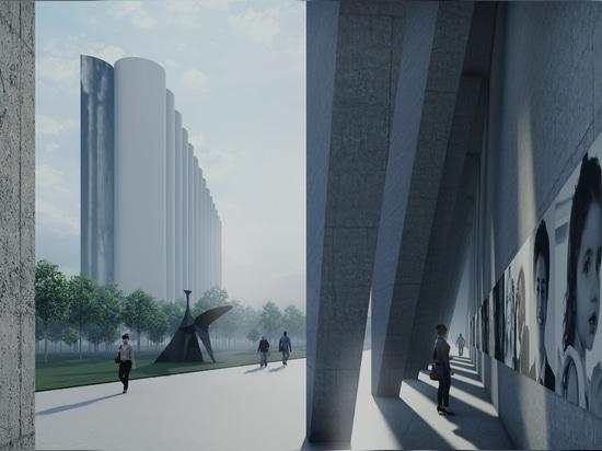 Carlos Moubarak proposes a memorial park for beirut one year after devastating port blast