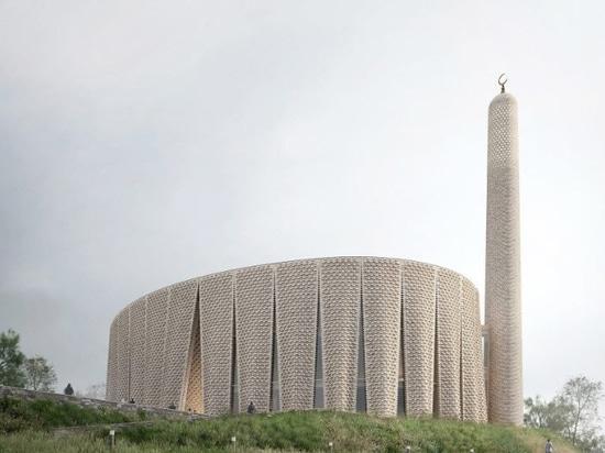 Luca Poian Forms has designed a sculptural mosque for Preston