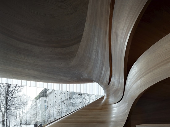 Snøhetta designs duett Düsseldorf, a new opera house and cultural hub in the heart of the city
